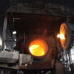 fundição processo industrial