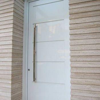 porta de alumínio sala