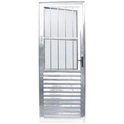 porta basculante alumínio preço
