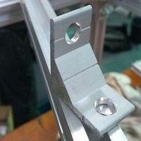 Cantoneira para perfil de alumínio