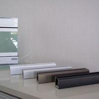 Perfil de alumínio para fechamento de sacada