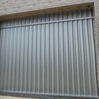 Portão de alumínio garagem