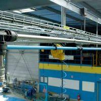 Tubo de alumínio para rede de ar comprimido