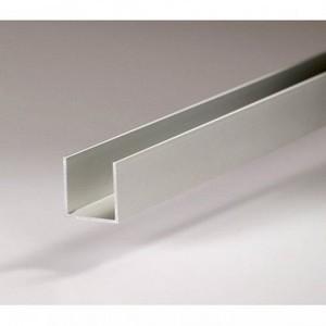 Canaleta de alumínio branca