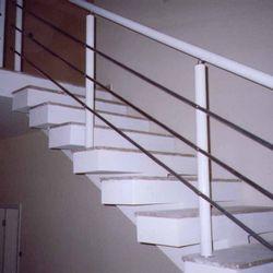 corrimão de escada alumínio