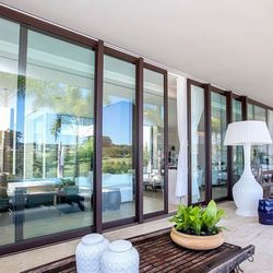 janela integrada alumínio