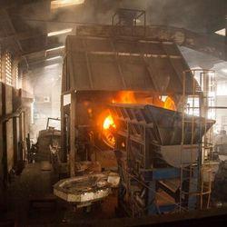 fundição de metais não ferrosos e suas ligas