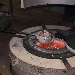 fundição de metais