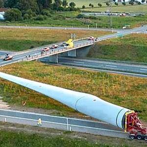 Lâmina para aerogeradores eólicos