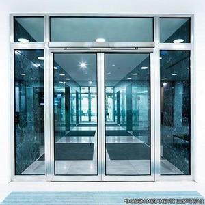 Manutenção porta de vidro automática sp