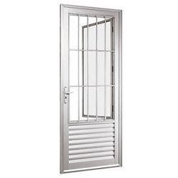 porta alumínio branco