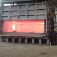 Forno para fusão de alumínio
