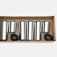 Kit de pés repuxados em alumínio