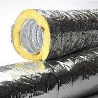 Lã de vidro com alumínio