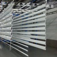 Pintura eletrostática perfil alumínio
