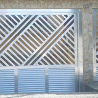 Portão de alumínio preço