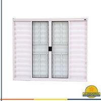 Portas e janelas de alumínio branco direto da fabrica
