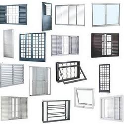 Fábrica de portas e janelas de alumínio sp